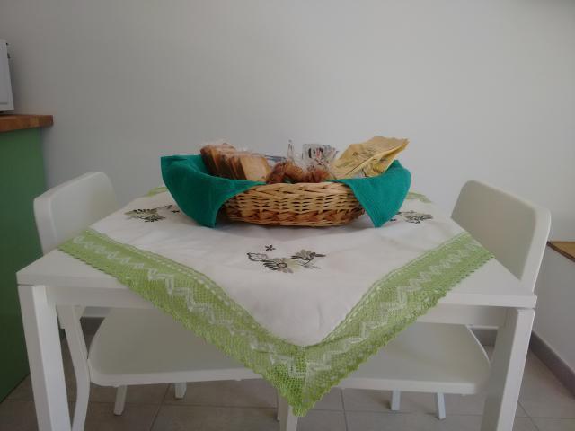cucina e paniere colazione