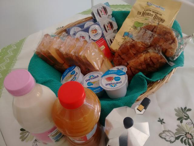 paniere colazione